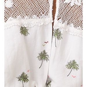 Free People Tops - Free People Carolina Mindset Embroidered Top
